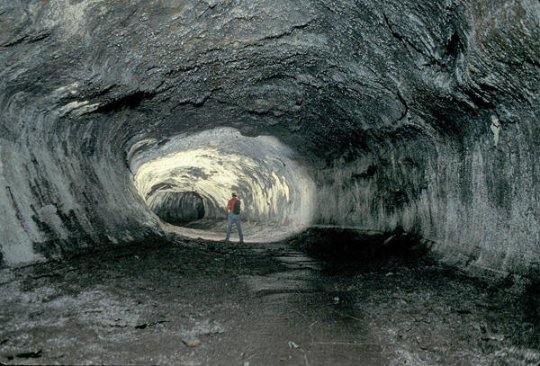 Kazumura Cave Hawaii Commission On Volcanic Caves Photo